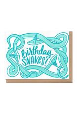 Birthday Snakes! Greeting Card