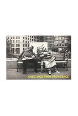Big Nazo and Skateboarder Postcard