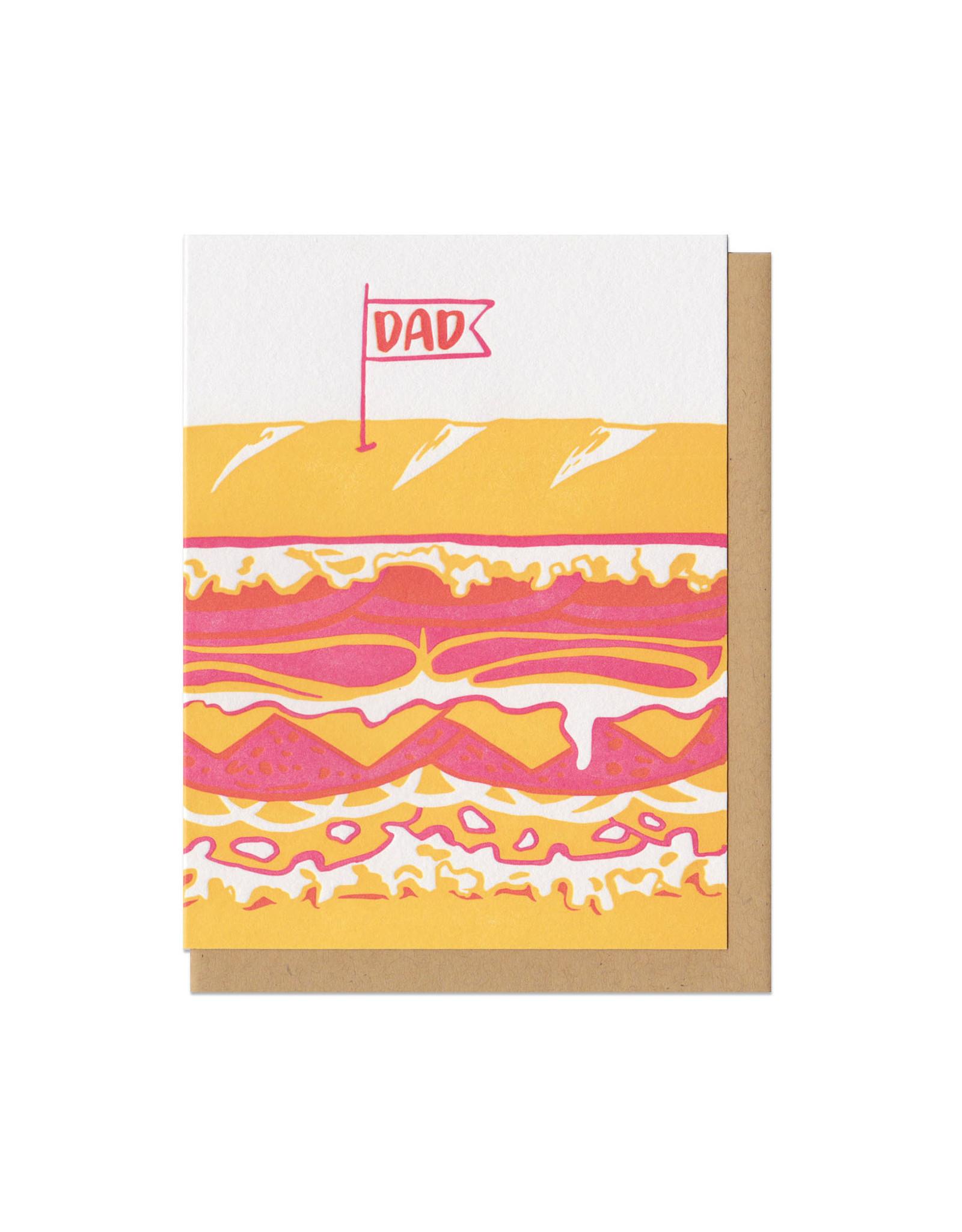 Dad Sandwich Greeting Card