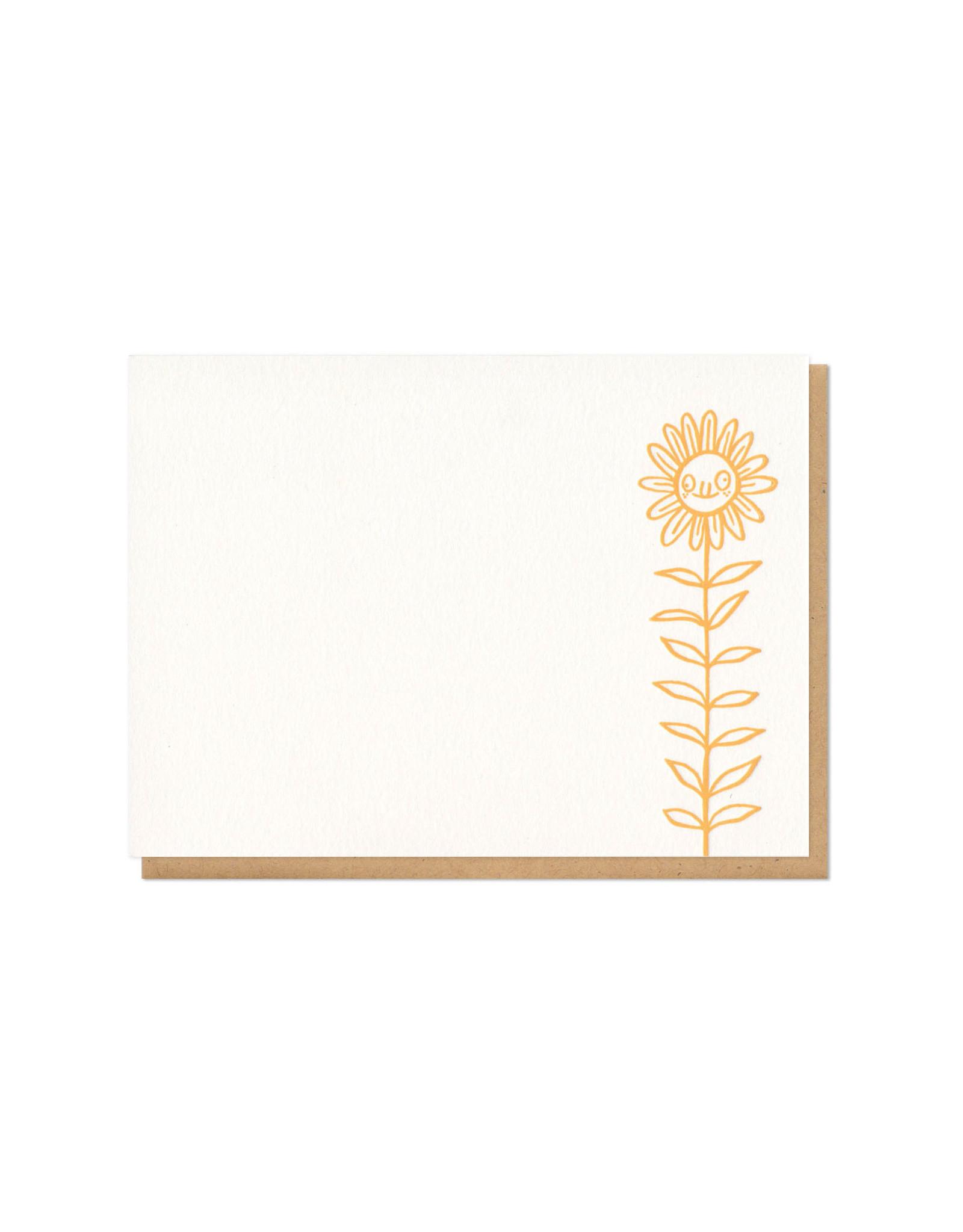 Derpy Flower Single Flat Card
