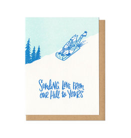 From Our Hill Greeting Card