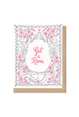 Get a Room Greeting Card