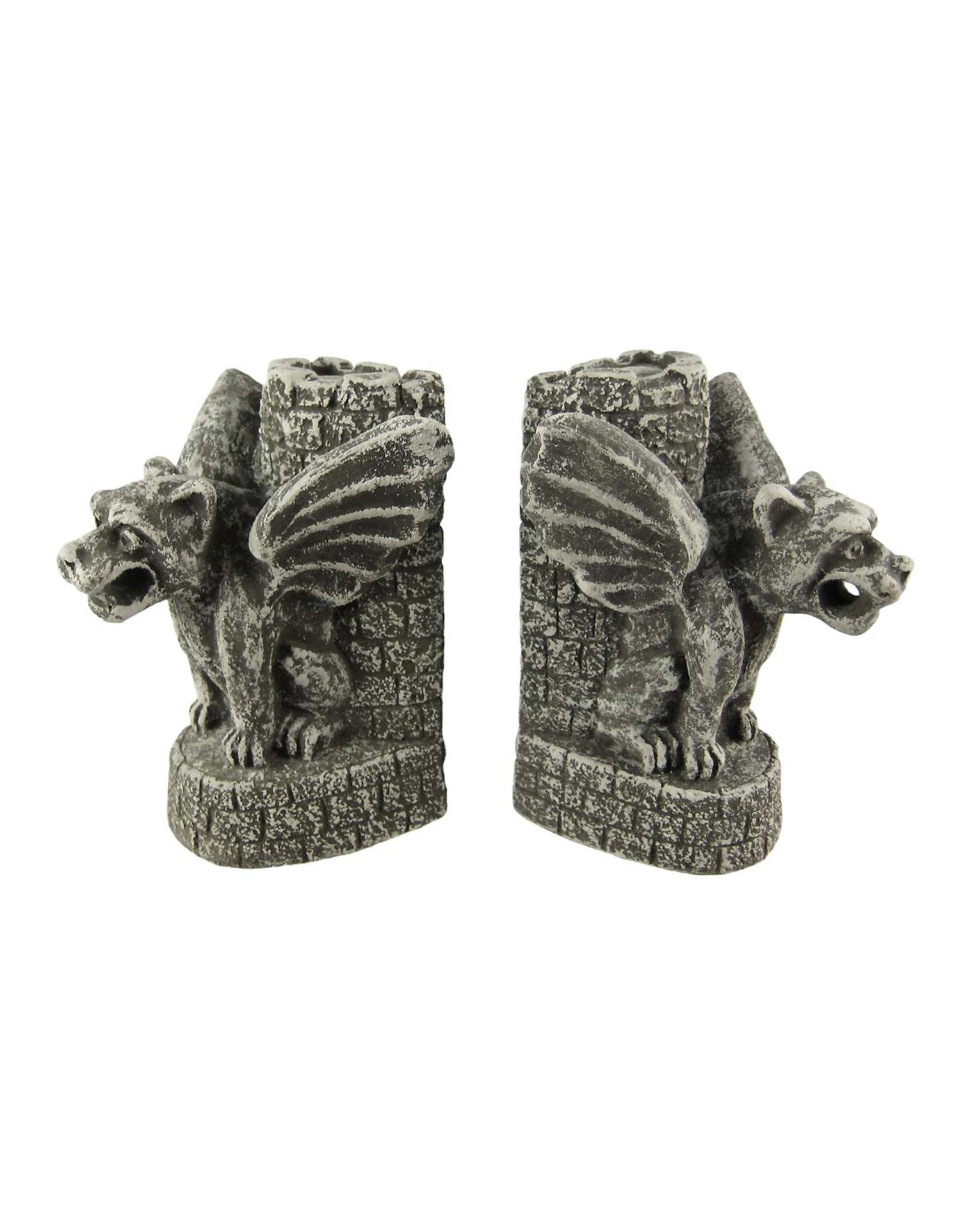 Gargoyle Bookends - Castle Guardians