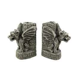 Gargoyle Bookends - Castle Guardians - CURBSIDE PICKUP ONLY