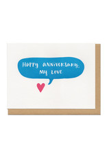 Happy Anniversary, My Love Greeting Card