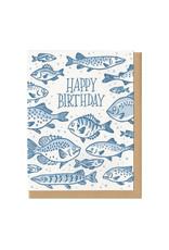 Birthday Fish Greeting Card