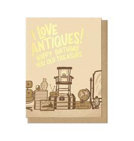 Happy Birthday You Old Treasure Greeting Card
