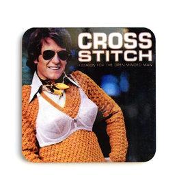 Cross Stitch Coaster (cork)