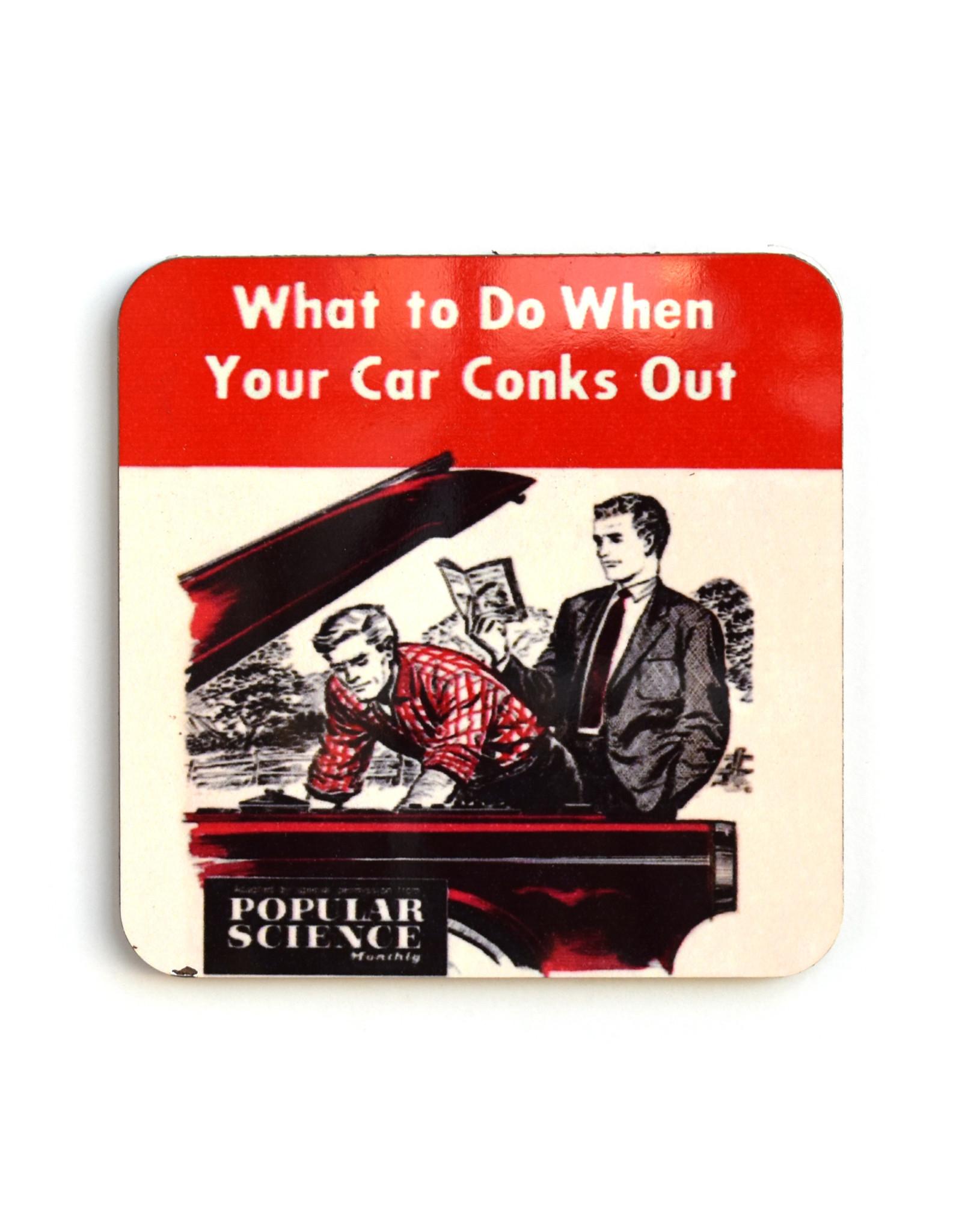 Car Conks Coaster (cork)