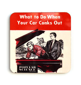Car Conks Coaster (cork)