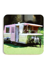 Pink/Green Trailer Coaster