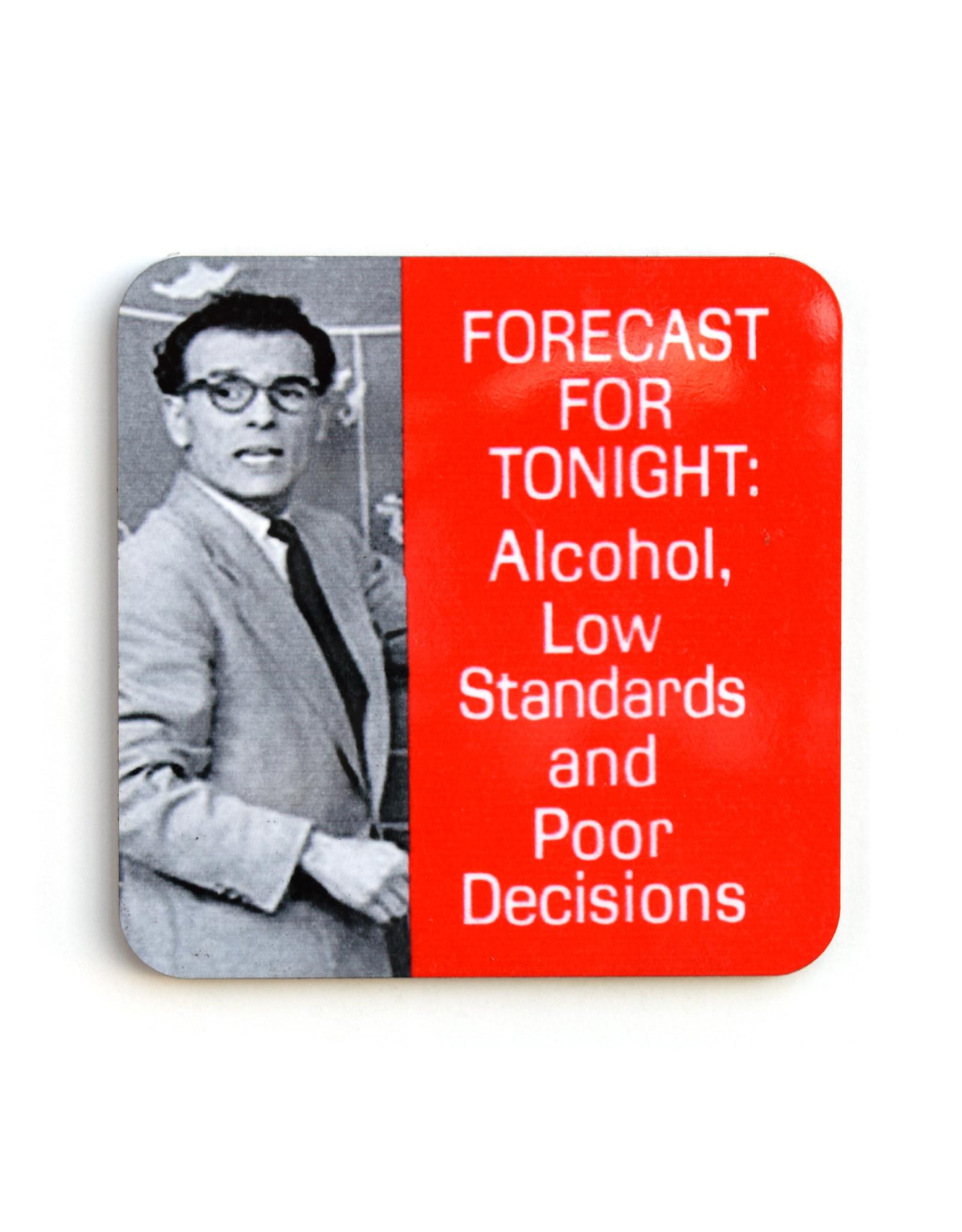 Forecast for Tonight Coaster