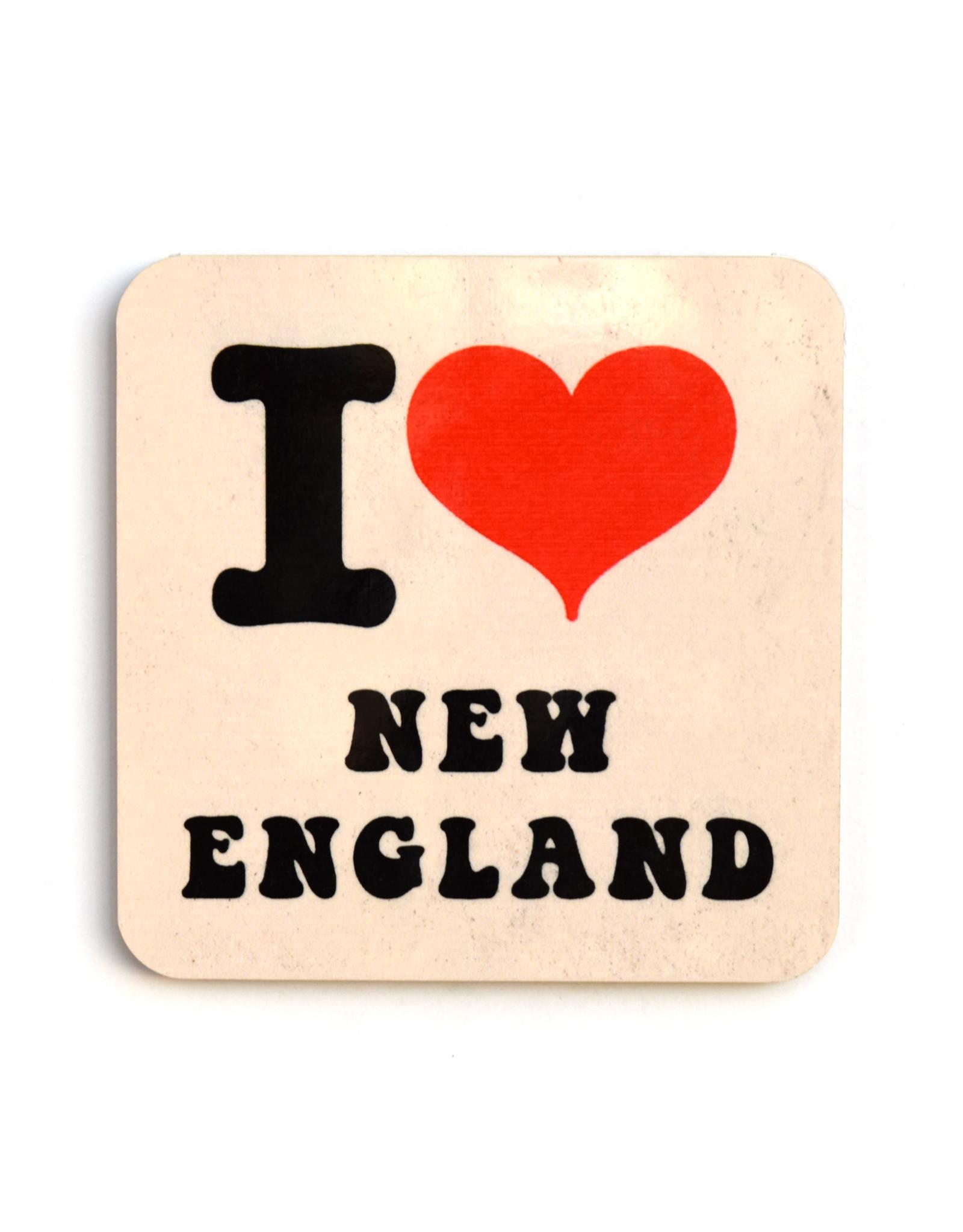 I Heart New England Coaster