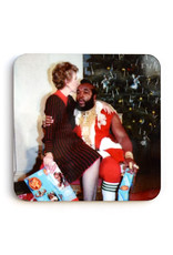 Mr. T Christmas Coaster