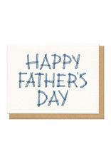 Happy Father's Day Logs Greeting Card