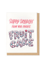 Happy Holidays From Your Favorite Fruit Cake Greeting Card Box Set of 6