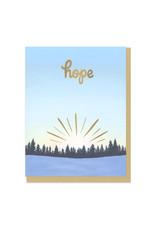 Hope Sunrise Greeting Card