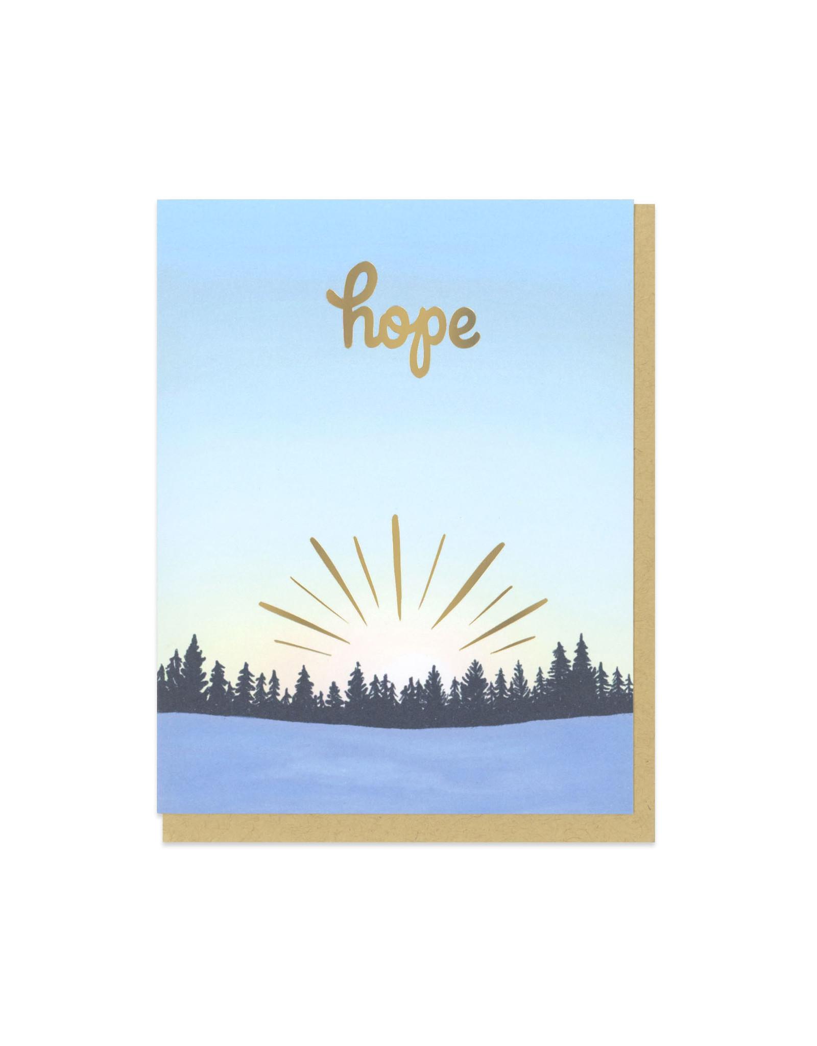 Hope Sunrise Greeting Card Boxed Set of 6