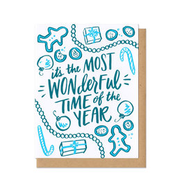 Most Wonderful Time of the Year Greeting Card