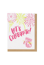 Let's Celebrate! Quietly. Greeting Card