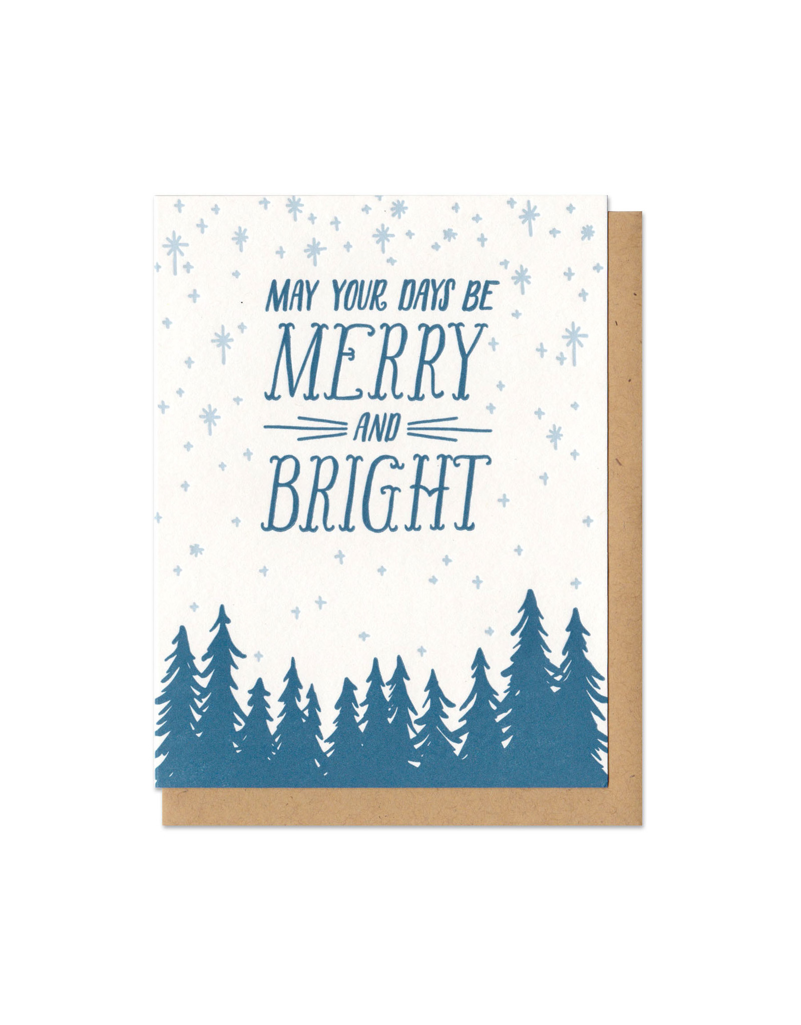 Merry and Bright Card Box Set of 6