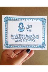 Mom Fact #46 Polar Bears Greeting Card