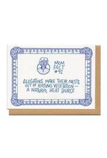 Mom Fact #92 Alligators Greeting Card
