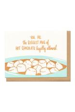 Mug of Hot Chocolate Greeting Card
