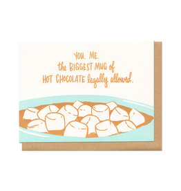 Mug of Hot Chocolate Greeting Card Boxed Set of 6