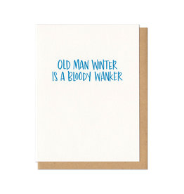 Old Man Winter Greeting Card Boxed Set of 6