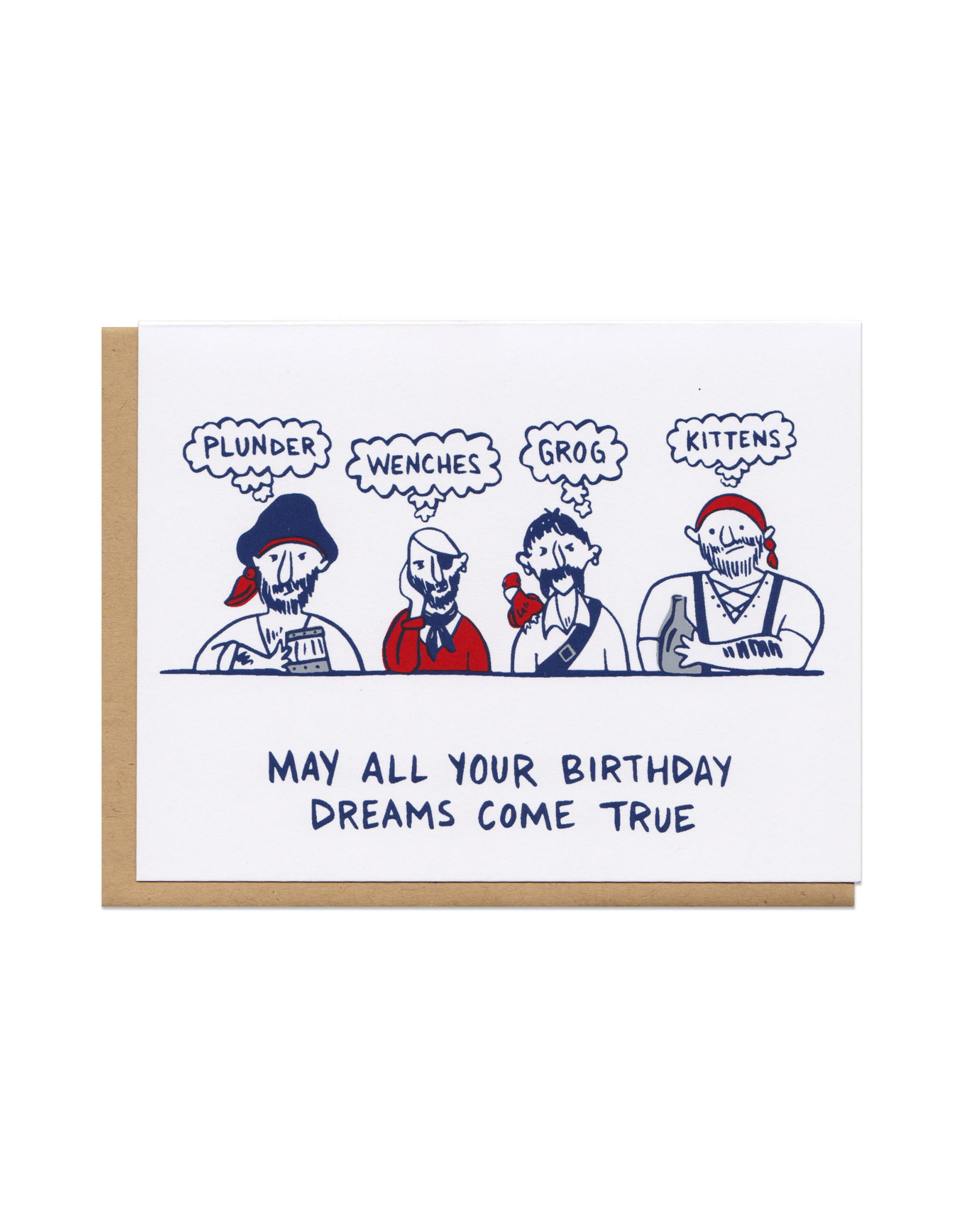 Pirate Birthday Greeting Card