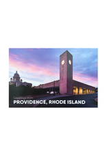 Providence Train Station Hassan Bagheri Postcard