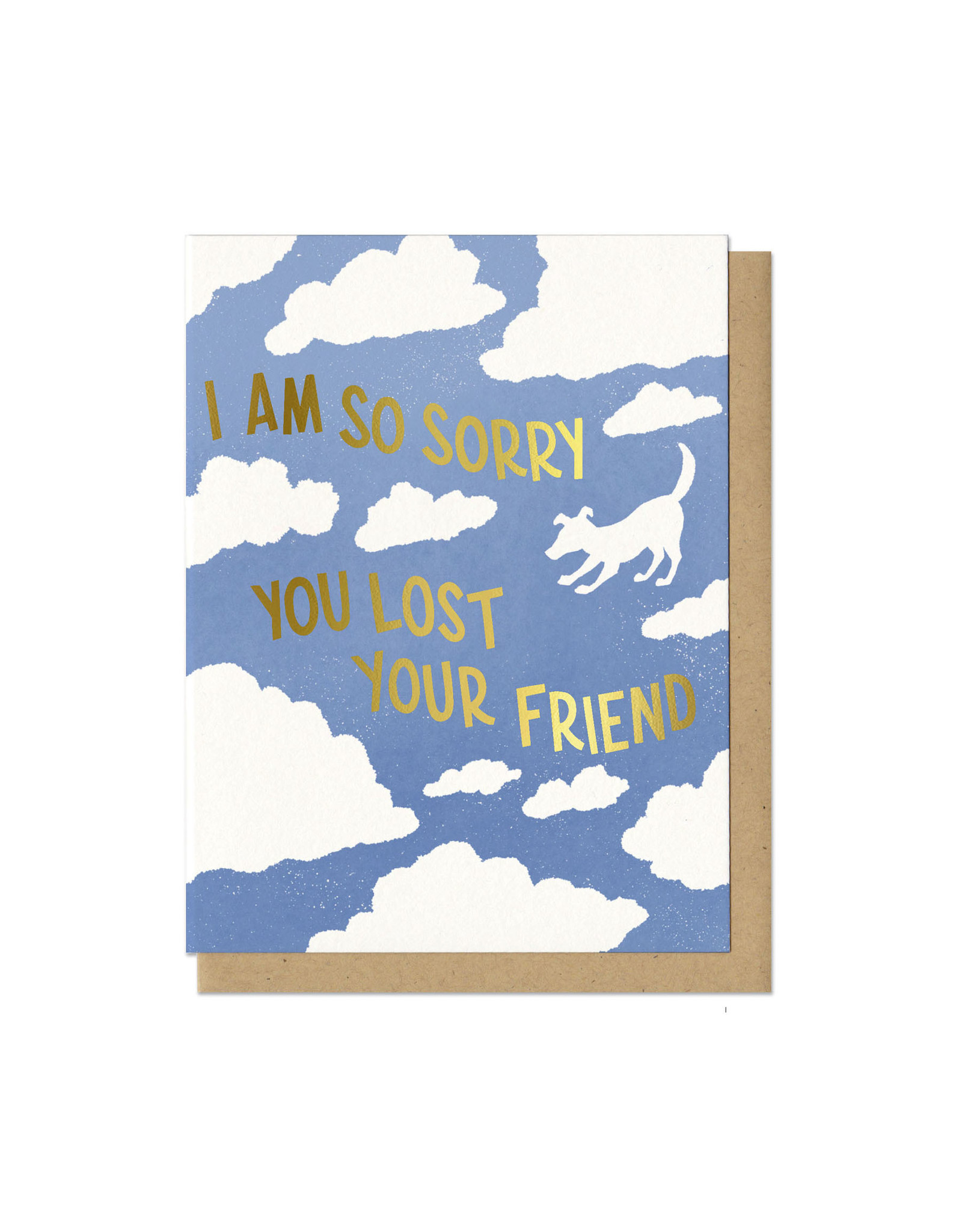 Sorry You Lost Your Friend (Dog) Greeting Card