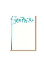Thank You Flag Single Flat Card