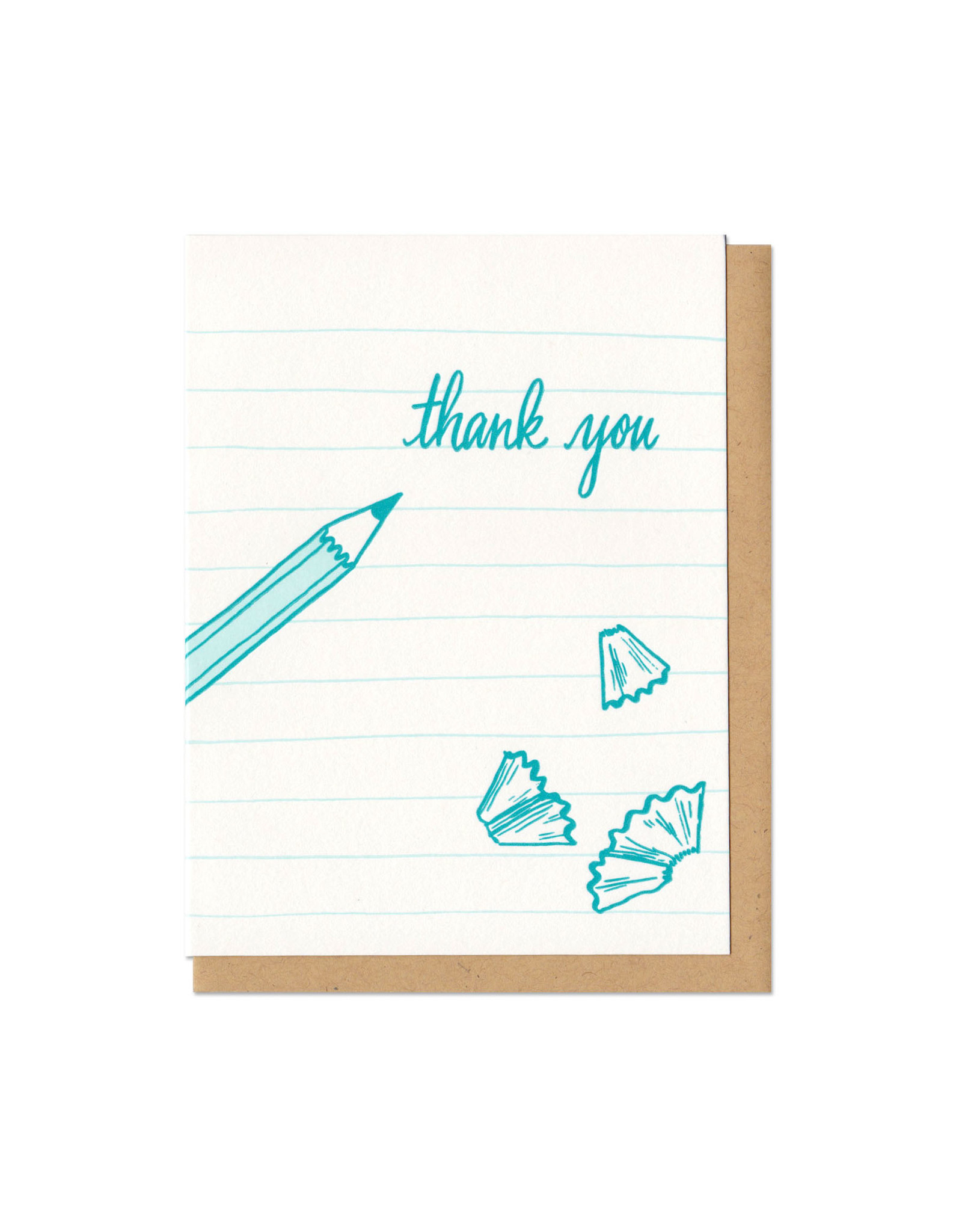 Thank You Pencil Greeting Card