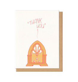 Thank You Radio Greeting Card