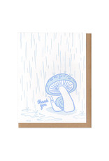 Thank You Snail Greeting Card