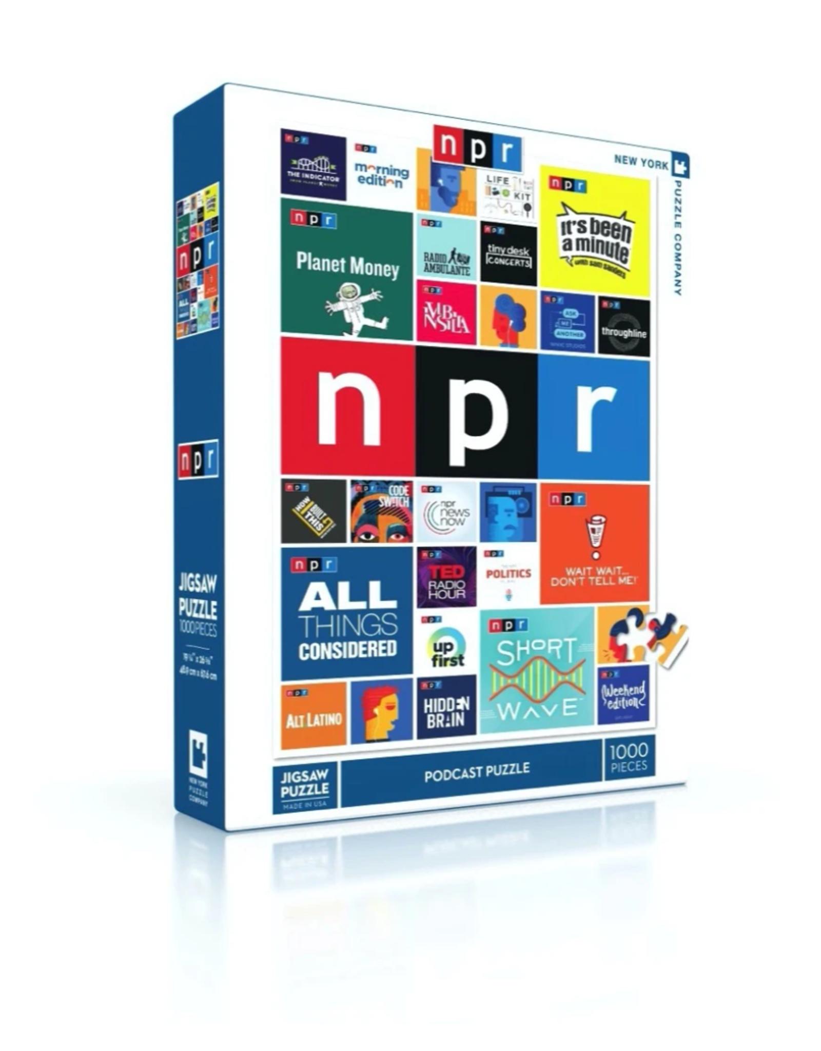 Podcast NPR Puzzle - 1000 Pieces