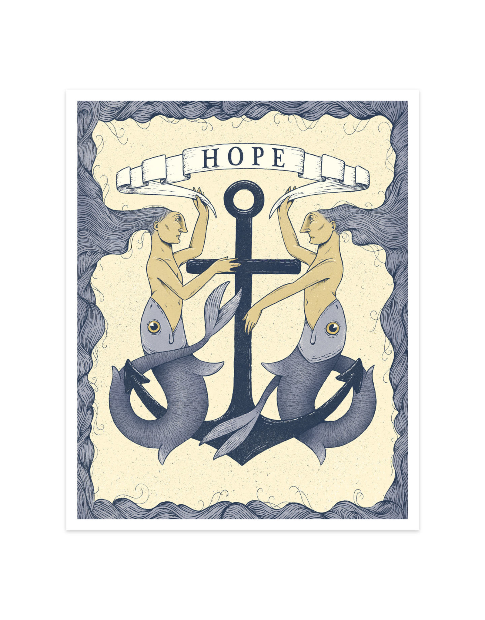 Hope Mermaids Print