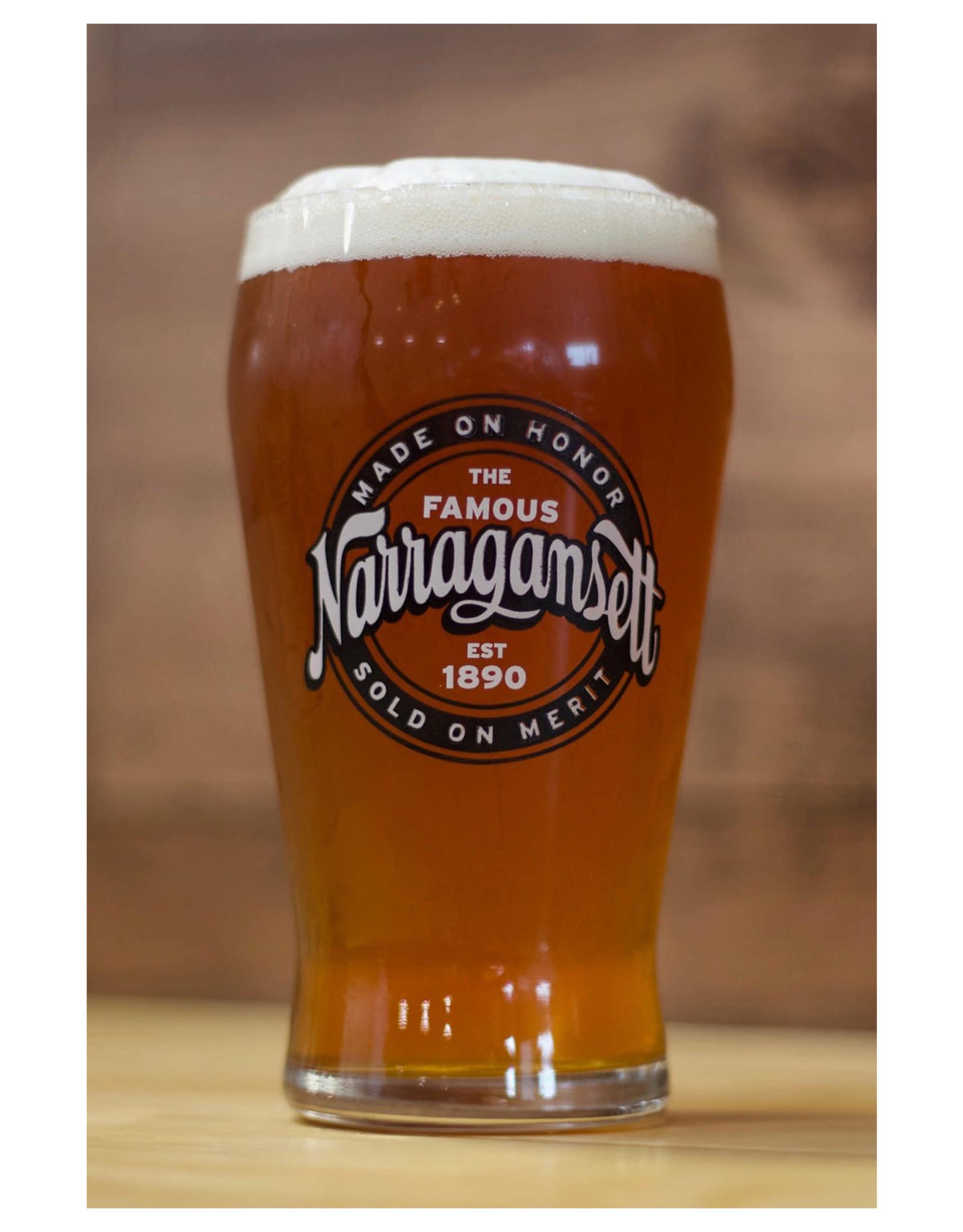 Narragansett Pilsner Glass