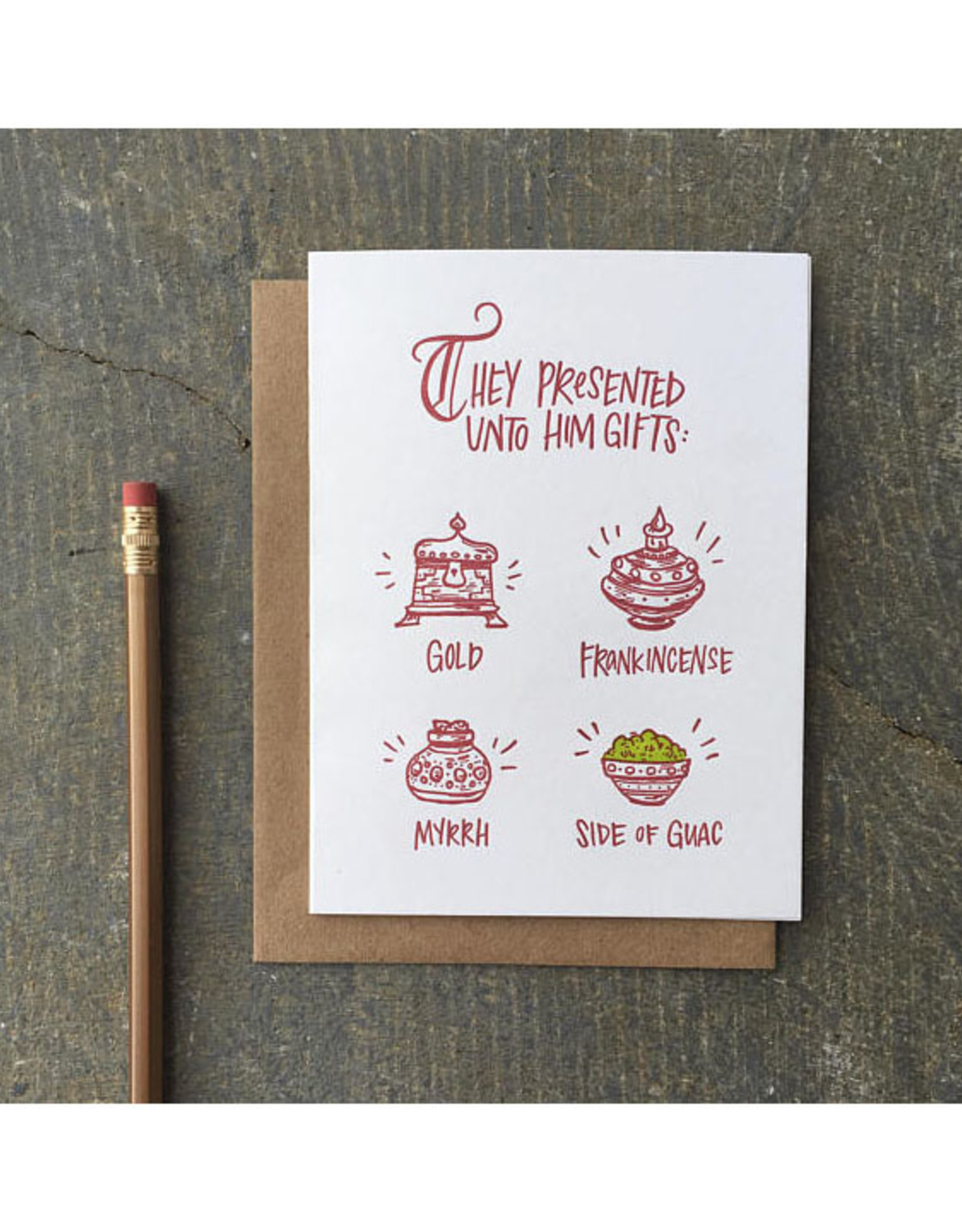 Side of Guac Greeting Card Boxed Set of 6