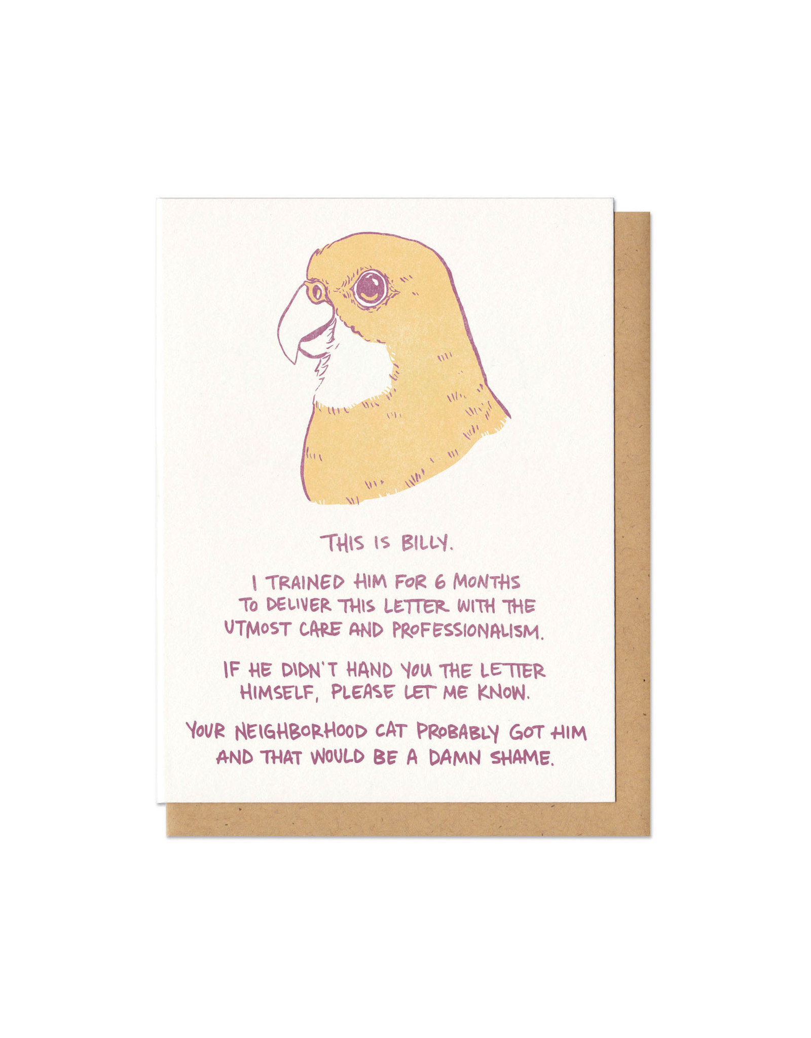 This Is Billy Greeting Card