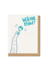 Welcome Peanut! Greeting Card