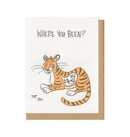 Where You Been? Greeting Card