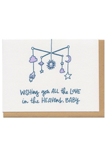 Love in the Heavens Greeting Card