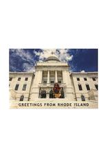 Big Nazo on The State House Steps Postcard