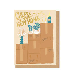 Cheers to Your New Home Greeting Card