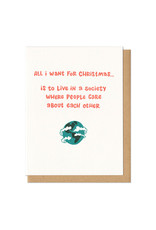 All I Want For Christmas Card Boxed Set of 6