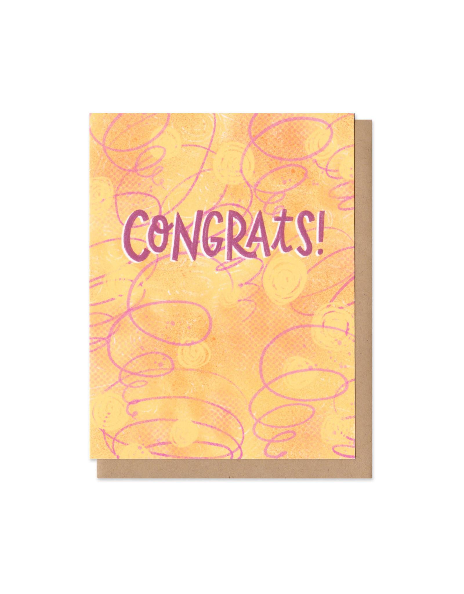 Colorful Classics Congrats Greeting Card