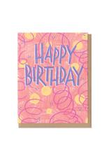 Colorful Classics Happy Birthday Greeting Card